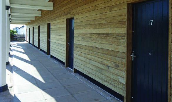 Fleetwood Changing Huts